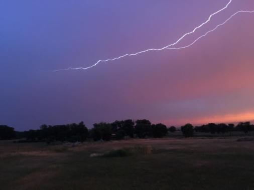 Lightening.sunrise